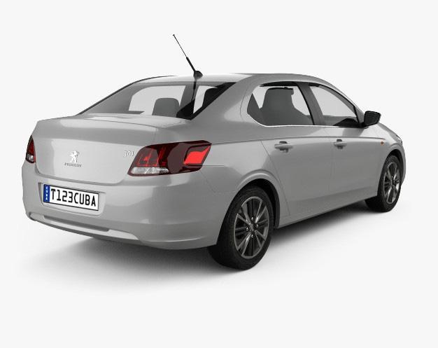 Alquiler de Autos Medio Manual Peugeot 301
