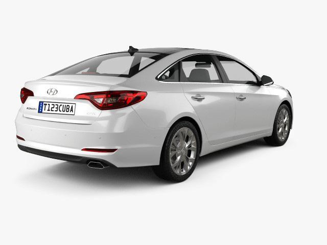 Alquiler de Autos Premium Automatico Hyundai Sonata