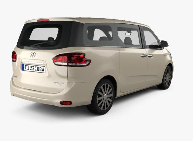 Alquiler de Autos Minivan Automatico Maxus G10
