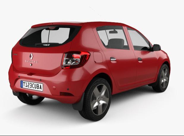 Alquiler de Autos Economico Automatico Renault Sandero
