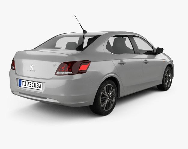 Alquiler de Autos Medio Automatico Peugeot 301
